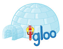 igloo i Photographie stock