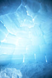 Igloo Interior Background Royalty Free Stock Photos