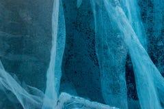 Igloo lodowych bloków ściany szczegół Zdjęcie Royalty Free