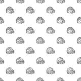 Igloo pattern seamless royalty free illustration