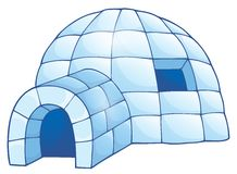 Igloo theme image 1 Stock Image