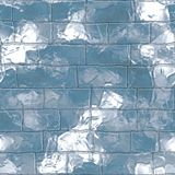 Igloo wall. Ice igloo wall  seamless pattern Stock Images