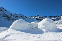 Igloos Royalty Free Stock Image