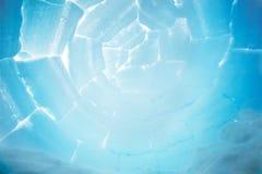 Iglu-Innenraum-Hintergrund stockbild