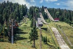Igman Olympische Sprongen Stock Fotografie