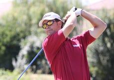 Ignacio Bermudo en el golf Prevens Trpohee 2009 Fotografía de archivo libre de regalías