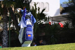 Ignacio Garrido at Andalucia Golf Open, Marbella Stock Images