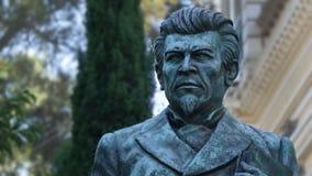 Ignacio Manuel Altamirano rzeźba zdjęcie royalty free