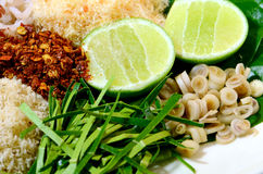 Igname thaïlandaise épicée de Khao de cuisine Photos stock