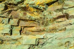 Igneous rock lava closeup. Stock Photos
