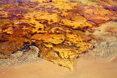 Igneous sea coast. Protaras city, Cyprus Stock Photo