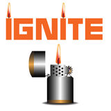 Ignite Stock Photo