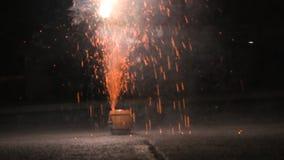 Fireworks Exploding stock video