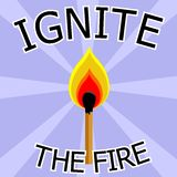 Ignite Royalty Free Stock Photos