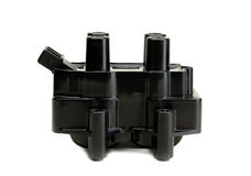 Ignition coil for gasoline four-cylinder internal combustion eng Royalty Free Stock Photos