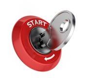 Ignition key Stock Image