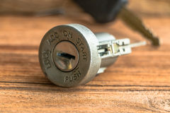 Ignition lock Stock Images