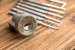 Ignition lock Royalty Free Stock Image