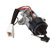 Ignition switch with ignition key Stock Photography
