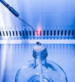 Ignition temperature sterilization Royalty Free Stock Photography