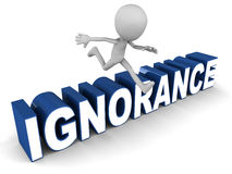Ignorance Royalty Free Stock Photos