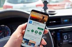 IGO Navigation app stock fotografie