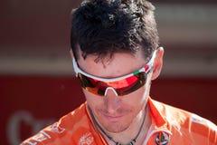 Igor Anton chez Vuelta 2012 photos libres de droits