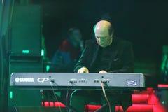 Igor Bril play synthesizer Stock Photo