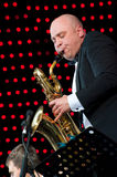 Igor Butman and his band performing Royalty Free Stock Photography