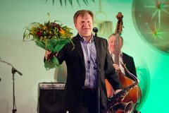 Igor Butman and saxophone Royalty Free Stock Photo
