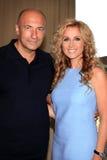 Igor Krutoy and Lara Fabian Stock Photo