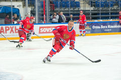 Igor Larionov (8) Forward the Russian National Team Royalty Free Stock Photo