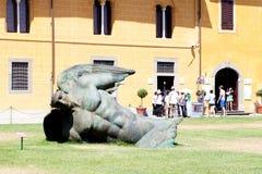 Igor Mitoraj�s sculpture Stock Image