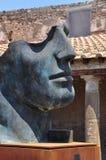 Igor Mitoraj statues at Pompeii archaeological site, Italy Royalty Free Stock Photo