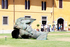 Igor Mitoraj's sculpture Stock Image