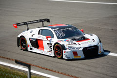 Igor Salaquarda Racing Audi R8 LMS at Monza. The Autodromo Nazionale Monza hosted the first endurance race of 2017 Blancpain GT Series Stock Photos