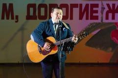 Igor Sarukhanov su una scena Fotografie Stock Libere da Diritti