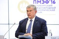 Igor Sechin Stock Photo