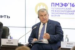 Igor Sechin Stock Photos