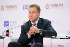 Igor Shuvalov stockfoto