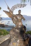 Igor Stravinski statue, Montreux Royalty Free Stock Image