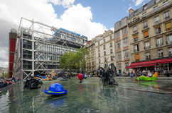 Igor Stravinsky Place a Parigi Fotografia Stock