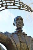 Igor Stravinsky statue at Geneva Lake, Montreux Stock Photo