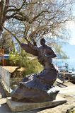Igor Stravinsky statue, Montreux Stock Images