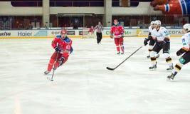 Igor Volkov en avant (61) Photo libre de droits
