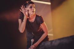 Igorrr, ζωντανή συναυλία Hellfest 2017 της Laure Le Prunenec Στοκ εικόνες με δικαίωμα ελεύθερης χρήσης