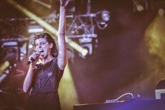 Igorrr ζωντανό στη συναυλία 2017 Στοκ φωτογραφία με δικαίωμα ελεύθερης χρήσης