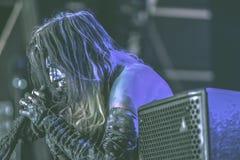 Igorrr живет в концерте 2017 стоковая фотография