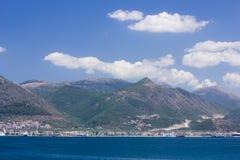 Igoumenitsa. Harbor at west coast of Greece Royalty Free Stock Images