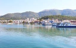 Igoumenitsa landscape Epirus Greece. Landscape of Igoumenitsa Thesprotia Epirus Greece Stock Images